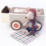 Racer mouse in box - Maileg