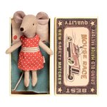 Bigsister Mouse in box - Maileg
